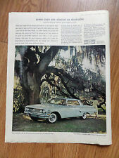 1960 Chevrolet Impala Sport Sedan Ad Under the Dueling Oak