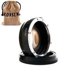 Focal Reducer Speed Booster Adapter Canon EOS EF mount lens to Sony NEX E A5100