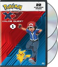 Pokemon The Series: Xy Kalos Quest Set 1 DVD