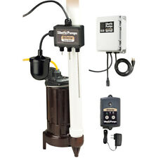 Liberty Pumps Elv280 12 Hp Cast Iron Elevator Sump Pump System With Oiltecto