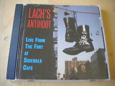 Lach's AntihootLive from the fort at Sidewalk cafè1996CDfolk countrybuono