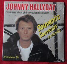 Johnny Hallyday, souvenirs souvenirs version 82 / je cherche une ..., CD single