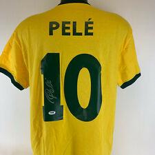 Soccer Legend Pele' signed autographed Brazil jersey Psa ITP coa Football 276