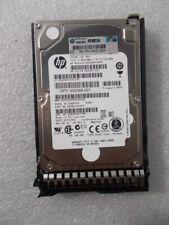 """HP 653955-001 // EG0300FCSPH 300GB 10K RPM SAS 2.5"""" HDD 689287-001 W/ Tray"""