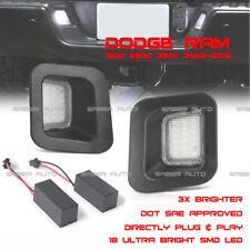 2x Error Free 18 LED License Plate Light Assy For Dodge RAM 1500 2500 3500 03-18