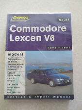 1995 - 1997 Commodore & Lexcen V6 6 cylinder service and repair manual