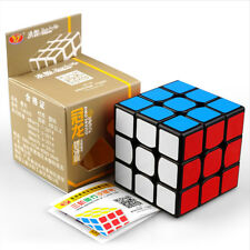 Guanlong 3x3x3 Rubik's Cube Magic Speed Cube Puzzle Twist Toy Gift for Kid Black