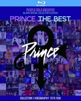 Prince The Best Videography 1979 - 1990 Blu-ray 1 Disc Purple Gold Archives F/S