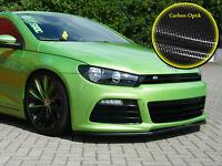 Spoilerschwert Frontspoiler ABS für VW Scirocco 3 R mit ABE Carbon Optik
