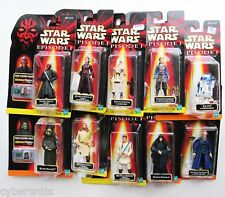 Star Wars Action Figures LOT of 10 Episode 1 Commtech 1990s Vintage NEW Sealed