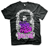 Jimi Hendrix Purple Haze World Tour Rock N Roll Männer Men T-Shirt Schwarz Black