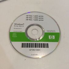 HP PSC 1400 1500 1600 series for Windows 98 Me 2000 XP Driver CD Version 4.7.1