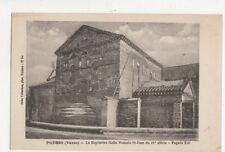 Poitiers Baptistere Gallo Romain St Jean Vintage Postcard France 443a