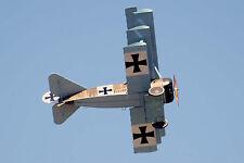 1/7 Scale German WW-I Fokker DR-1 Triplane Plans, Templates & Instructions 40ws