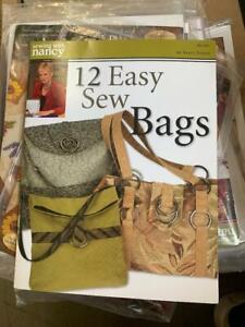 12 Easy Sew Bags by Nancy Zieman BK2301