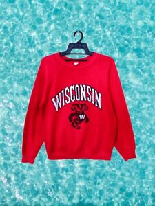 Vintage Tultex University of Wisconsin Sweatshirt