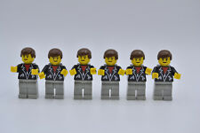 LEGO 6 x Figur Minifigur Minifig shell011 Tankwart Tankstelle