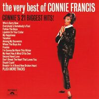 CONNIE FRANCIS The Very Best Of CD BRAND NEW Connie's 21 Biggest Hits