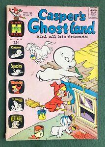 Casper's Ghostland #15 Harvey Comics Silver Age Friendly Ghost cartoon vg