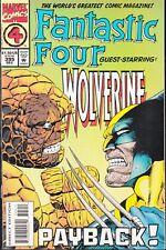 FANTASTIC FOUR  #395 1994 -G/S WOLVERINE/ ANT-MAN APP- DEFALCO/ RYAN...VF/NM