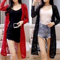 New Women Ladies Casual Coat Jacket Long Sleeve AU Size 10 12 14 16 18 20 #1869