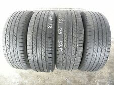 245/60/18 MICHELIN LATITUDE TOUR HP %65 TREAD REMAINING NICE MATCHING SET