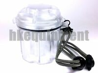 EDC Gear 6x 18650 Battery Box Case Storage Capsule Container Clear
