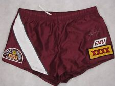 DARREN LOCKYER Hand Signed Qld Maroons Shorts + Photo Proof