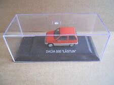DACIA 500 LASTUN Legendary Cars 1:43 Die Cast in Box in Plexiglass [MV10]