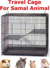 Travel Cage For Chinchilla GuineaPig Hamster Ferret Mice Rat Degu Glide Rabbit