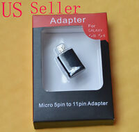 HDTV Micro HDMI Adapter Micro USB 5 to 11 Pin Converter for Samsung Galaxy S3 S4