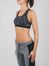 NWT $55 NIKE Dri-Fit Black Cheetah Medium Support Training Sports Bra Women's S