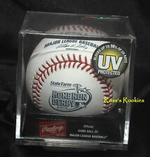 2010 RAWLINGS OFFICIAL HOME RUN DERBY BASEBALL  in sealed cube w/ MLB hologram