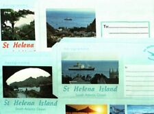 ST.HELENA 2006 SET 4 PICTORIAL AEROGRAMS MINT UNUSED