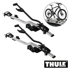 2x Thule Cycle Bike Roof Mount Carrier Universal ProRide 591