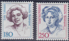 Bund 1427/28 ** 180 und 250 Pfg Freim. Ausg. Frauen, postfrisch