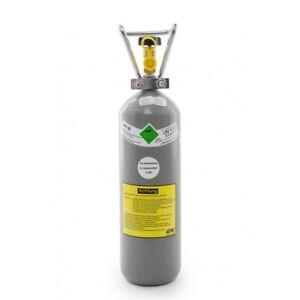2 kg CO2 Flasche Getränke Kohlensäure, NEU & VOLL, Import mit 10 Jahren TÜV