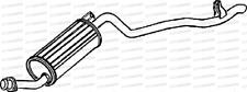 Mitsubishi Shogun Sport 2.5Td Onk940 00- Exhaust Silencer Box Flex Pipe