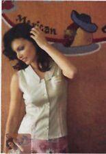 2004 Anthropologie Odille Seamed Petal Top 2 Retro