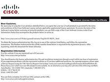 CISCO L-FL-CUE-MBX-5 Cisco 2900 Series License Unity Express