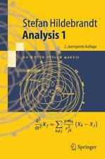 Analysis 1 von Stefan Hildebrandt (2005, Taschenbuch)