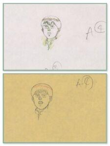 Akira Anime Genga Set for Cel Animation Art Kaneda in Leather アキラ Otomo COA 1988