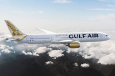 JC WINGS JC2134 1/200 GULF AIR BOEING 787-9 DREAMLINER A9C-FA WITH STAND