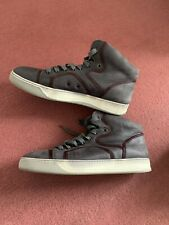 Lanvin  men  TRAINERS  shoes  high tops 100 % authentic ultra rare