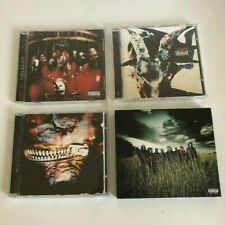 lot of (4) Slipknot CDs heavy metal death band Iowa Subliminal Versus All Hope