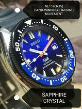 Seiko SKX007 MOD NE15 (6R15) movement Sapphire crystal SPB071J1 SE dial WARRANTY