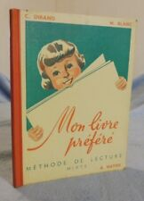 Mon Livre Préféré Méthode De Lecture Mixte, manuel scolaire enfantina