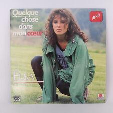 """Elsa – Quelque Chose Dans Mon Cœur (Remix) - Label: Ariola - Vinyl, 7"""",  45 RPM"""