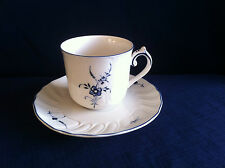 Villeroy & Boch Vieux Luxembourg coffee cup & saucer (minor flaws)