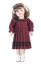 Pretty Cotton Pleated Dress and Panty Set for 11' Bleuette Dolls